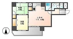 サンライフマンション泉[2階]の間取り