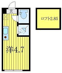 本蓮沼駅 5.5万円