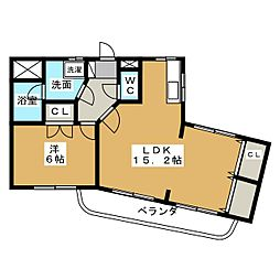 High Mansion MITSUYO I[3階]の間取り