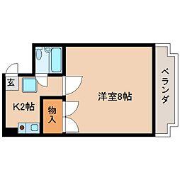 静岡県静岡市葵区茶町の賃貸マンションの間取り
