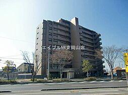 岡山県岡山市中区西川原丁目なしの賃貸マンションの外観