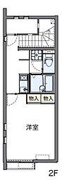 レオネクストひょうご東条[2階]の間取り