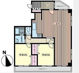 ストークマンション保土ヶ谷石田[5階]の間取り