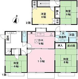 [一戸建] 東京都調布市上石原3丁目 の賃貸【/】の間取り