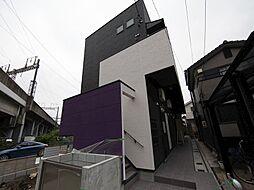 愛知県名古屋市中村区新富町4丁目の賃貸アパートの外観
