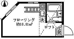 ライフピア東長崎[2階]の間取り