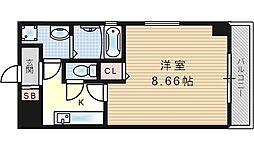 サンライト吉野II[4階]の間取り