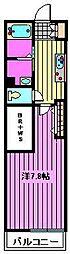 (仮称) MyStyle 岸町B[2階]の間取り