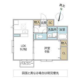 (仮)D-roomよしわら B