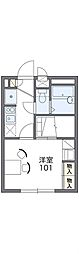 Osaka Metro今里筋線 だいどう豊里駅 徒歩3分の賃貸アパート 1階1Kの間取り