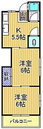 第2武田マンション[3階]の間取り
