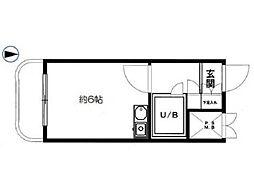 ライオンズマンション西八王子第2[4階]の間取り