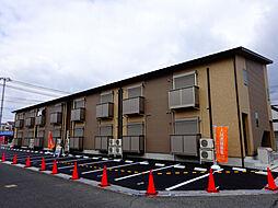 エトランス小松町A[2階]の外観