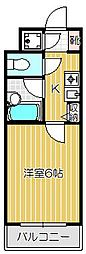 サンテミリオン旗の台[4階]の間取り