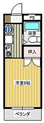 第五橋本ビル[315号室号室]の間取り