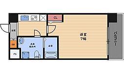 アッシュレジデンス吉野[8階]の間取り