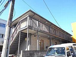 千葉県市川市行徳駅前1丁目の賃貸アパートの外観