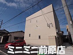 福岡県糸島市高田2丁目の賃貸アパートの外観