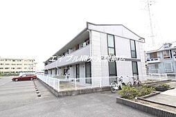 岡山県岡山市南区当新田丁目なしの賃貸アパートの外観