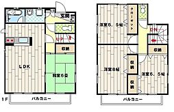[一戸建] 埼玉県川越市大字砂 の賃貸【/】の間取り