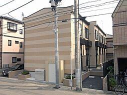 千葉県市川市末広1丁目の賃貸アパートの外観