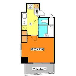 T-rise[5階]の間取り