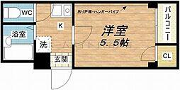 大阪府大阪市東成区中道3丁目の賃貸マンションの間取り