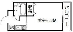 第17長栄シャルマン四条大宮壱番館[302号室]の間取り