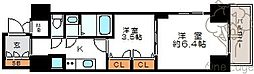 レジュールアッシュ梅田AXIA[2階]の間取り