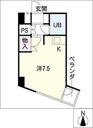 フィールド ヒルズ[3階]の間取り
