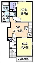 SEPIA LS7[1階]の間取り