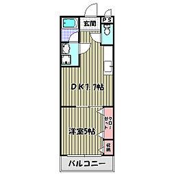 フジパレス草尾[1階]の間取り