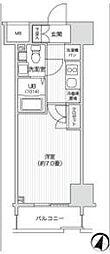 レジディア笹塚2[11階]の間取り