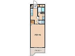 メゾンブローニュ10号棟[2階]の間取り