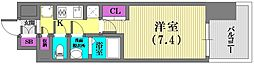 W−STYLE神戸II[7階]の間取り