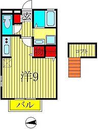 TOWN-A[2階]の間取り
