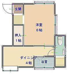 メゾン小島[2階]の間取り
