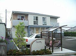 静岡県富士市森下の賃貸アパートの外観