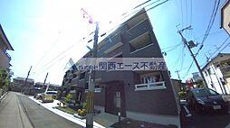 大阪府東大阪市友井3丁目の賃貸アパートの外観