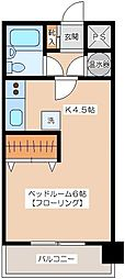代田ウエスト[3階]の間取り