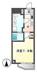 Collection CAYAGASAKA(コレクションチャヤガサカ)[7階]の間取り