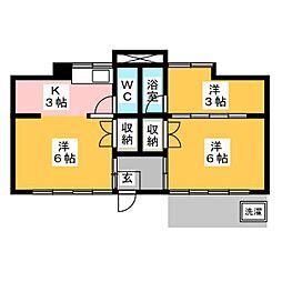 [一戸建] 愛知県岡崎市梅園町字1丁目 の賃貸【/】の間取り