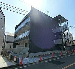 東京都三鷹市深大寺2丁目の賃貸マンションの外観