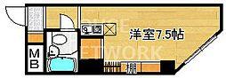 松屋レジデンス修学院[703号室号室]の間取り