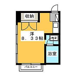 西岡マンション[2階]の間取り