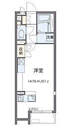 神奈川県相模原市緑区二本松3丁目の賃貸アパートの間取り