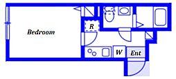(仮称)ベイルーム藤沢本町2-2号棟 1階1Kの間取り