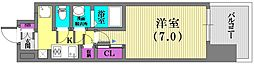 W−STYLE神戸II[2階]の間取り