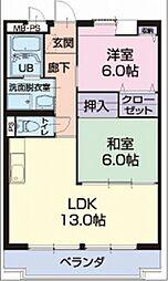 SD Village[1階]の間取り