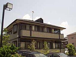 埼玉県熊谷市銀座7丁目の賃貸アパートの外観